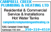 Campbell Creek Plumbing & Heating Ltd