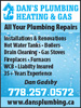 Dan's Plumbing Heating & Gas