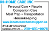 In-Home Care Inc