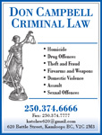 Don Campbell Criminal Law