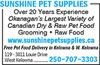 Sunshine Pet Supplies