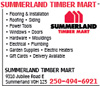 Summerland Timber Mart