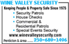Wine Valley Security