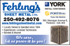 Fehling's Sheet Metal Ltd