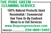 The Pure Green Cleaning Service