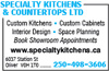 Specialty Kitchens & Countertops Ltd