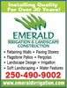 Emerald Irrigation & Landscape Construction