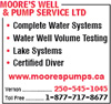 Moore's Well & Pump Service Ltd