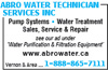 Abro Water Technician Services Inc