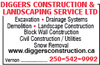 Diggers Construction & Landscaping Services Ltd