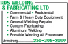 RDS Welding & Fabricating Ltd