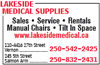 Lakeside Medical Supplies