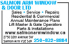 Salmon Arm Window & Door Ltd