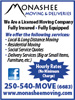 Monashee Moving & Deliveries