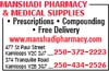 Manshadi Pharmacy & Medical Supplies
