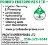 Pronto Enterprises Ltd