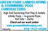 Green Park Landscaping & Swimming Pool Contractors