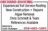Orchard Roofing