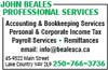 John Beales Professional Services Inc