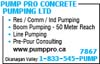 Pump Pro Concrete Pumping Ltd