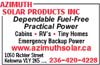 Azimuth Solar Products Inc