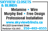 Skyview Closets & Blinds