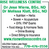 Rise Wellness Centre - Wiens Jese Dr BSC ND