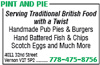 Pint And Pie