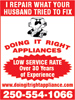 Doing It Right Appliances