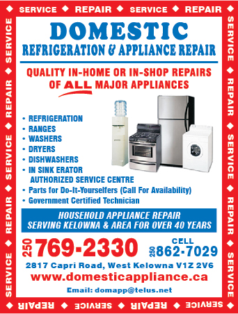 Domestic Refrigeration & Appliance Repair