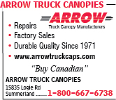Arrow Truck Canopies
