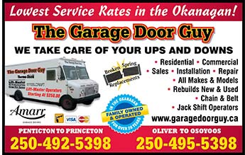 Garage Door Guy The Garage Door Repair And Replacement In Penticton Bc Infotel Multimedia Business Directory