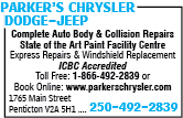 Parker's Chrysler Dodge-Jeep