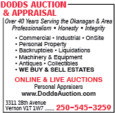 Dodds Auction & Appraisal