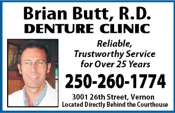 Butt Brian R.D. Denture Clinic