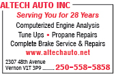 Altech Auto Inc