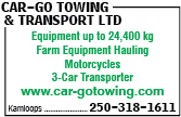 Car-Go Towing & Transport Ltd
