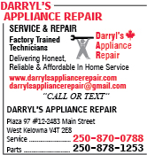Darryl's Appliance Repair