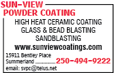 Sun-View Powder Coating