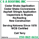 C S A Roofing Inc