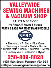 Valleywide Sewing Machines & Vacuum Shop