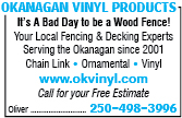 Okanagan Vinyl Products