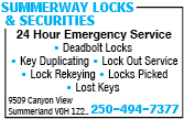 Summerway Locks & Securities