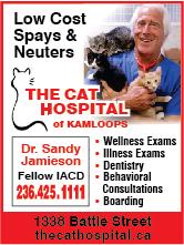 Cat Hospital Of Kamloops