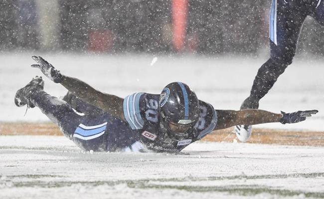 Snowfall Welcomes 105th Grey Cup Game Between Calgary And Toronto