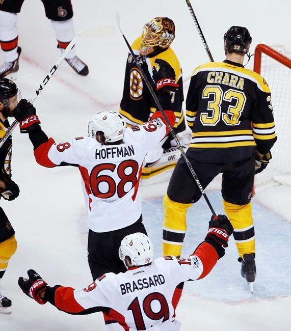MacArthur Scores OT Winner, Senators Edge Bruins In Game 6