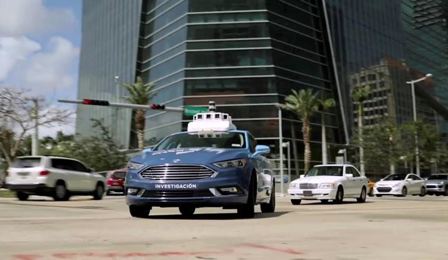 Ford and miami to form test bed for self driving cars for Motor city road test