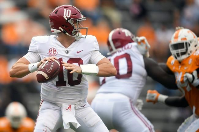 No. 2 Alabama beats Tennessee, Metchie III makes seven ...