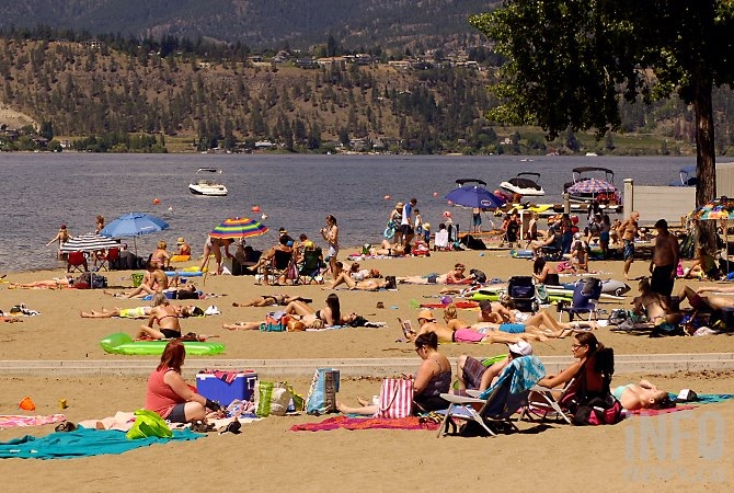 Kelowna saw record-breaking heat this summer.