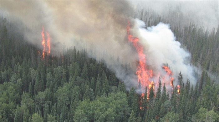 B.C. is now well into its third worst wildfire season in the last 18 years